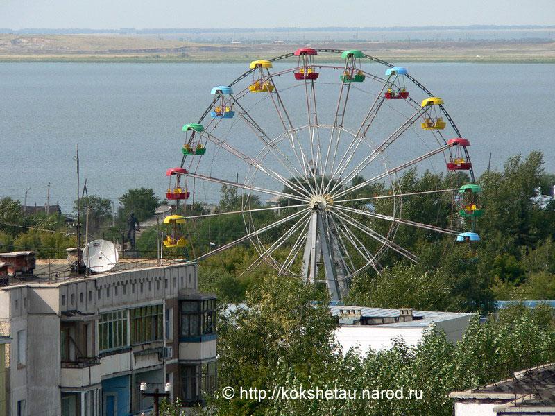 Кокшетау (Кокчетав). июль 2005 года. .  (16) Фото А. Ибраева.  Это может быть вам интересно.