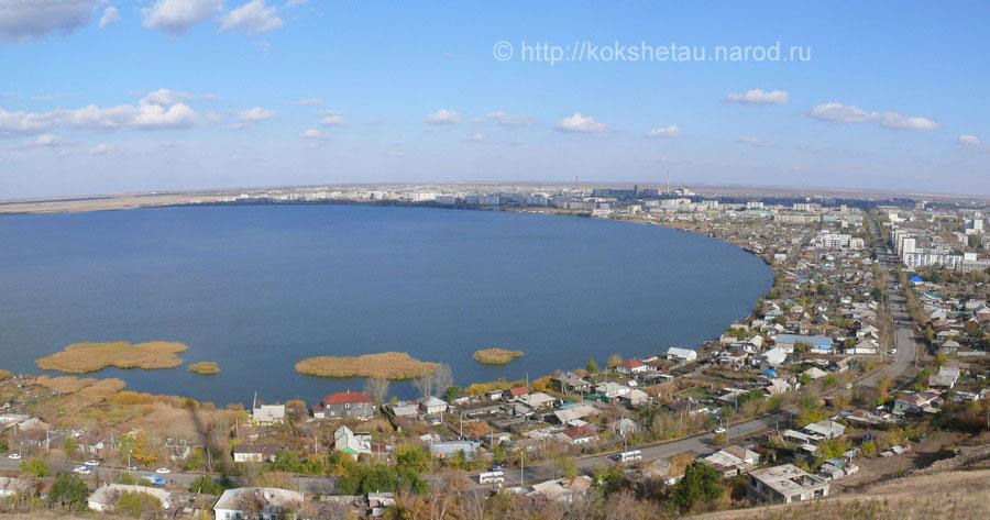 Это может быть вам интересно.  Панорама Кокшетау (Кокчетава). .  (Октябрь 2007 г.