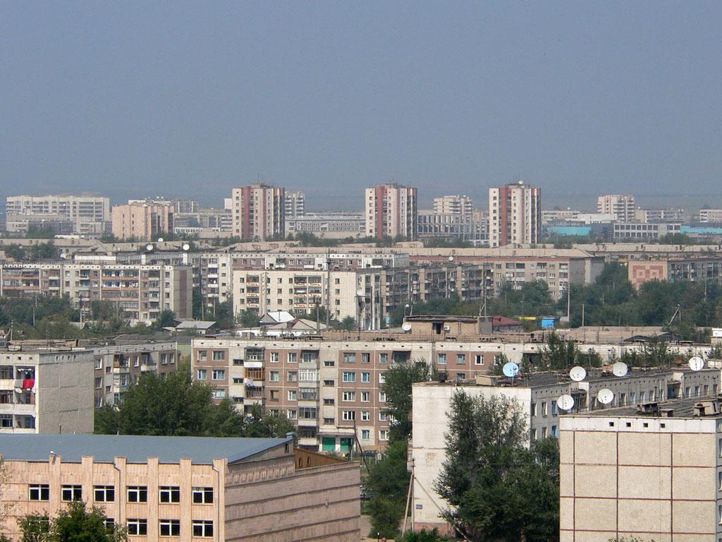 Это может быть вам интересно.  Кокчетав, вид с юго-востока. (август 2005 г.). Фото В. Омельченко.
