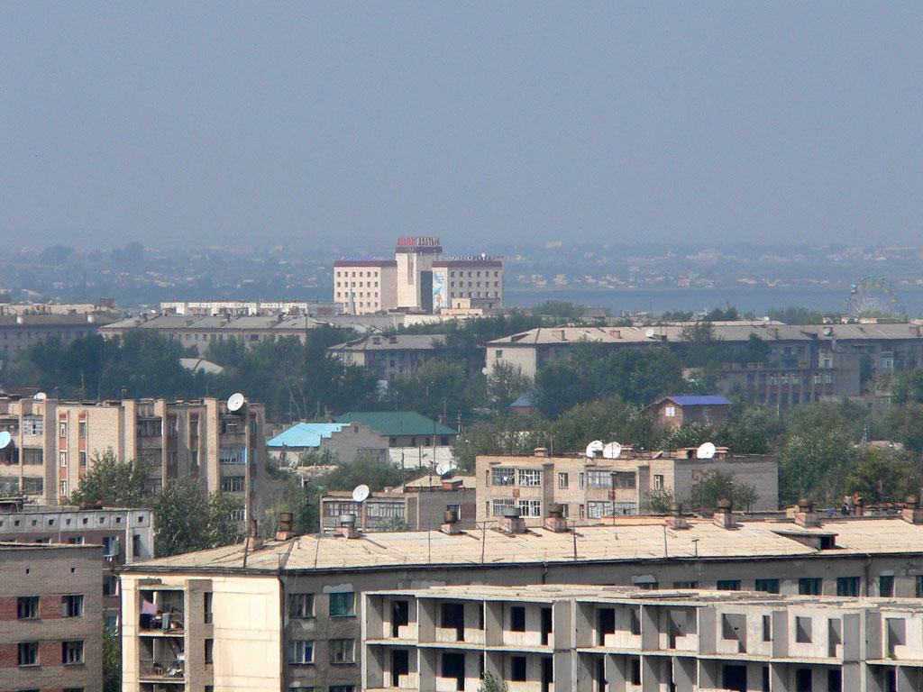 Кокчетав, вид с юго-востока. (август 2005 г.) Фото В. Омельченко.  Это может быть вам интересно.